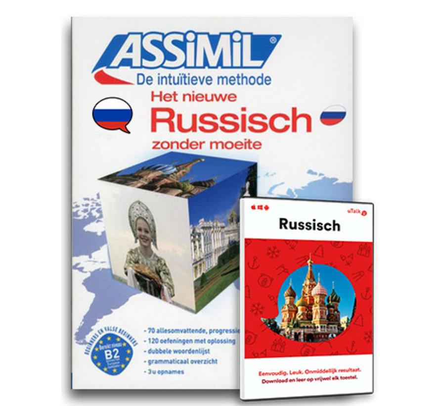 Russisch leren Online + Boek Audio CD's |  Complete cursus Russisch