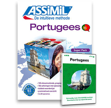 Complete taalcursus Portugees leren Online + Boek + Audio CD's - Complete cursus Portugees - Niveau A1 tot B2 - Conversatie,  Portugees leren spreken en Grammatica