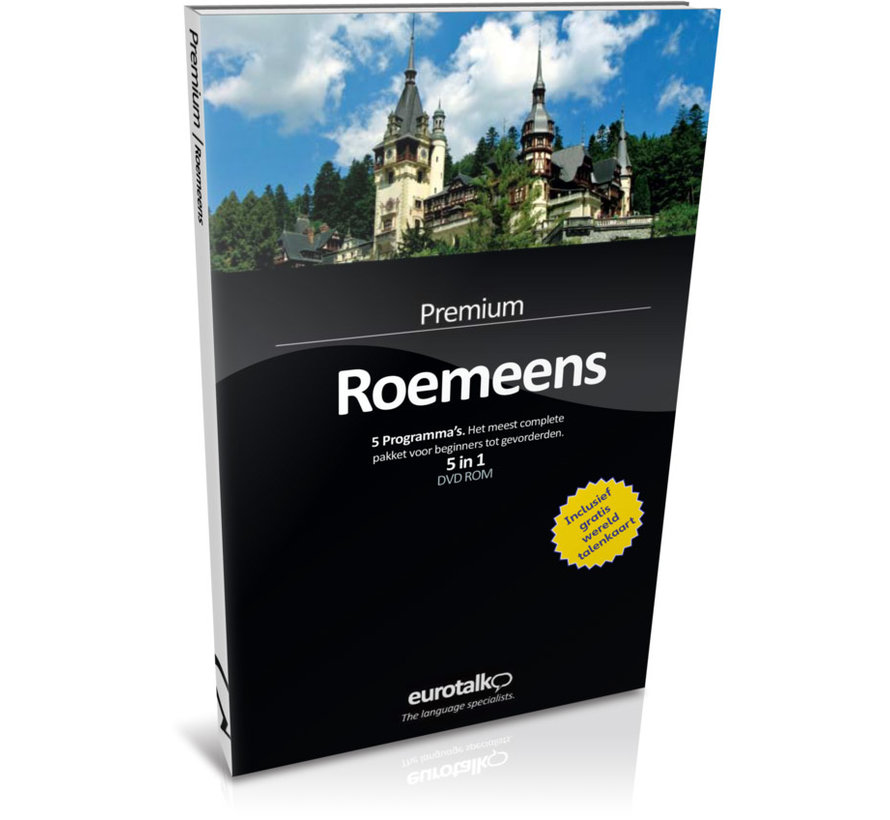 Complete taalcursus Roemeens - Eurotalk Premium
