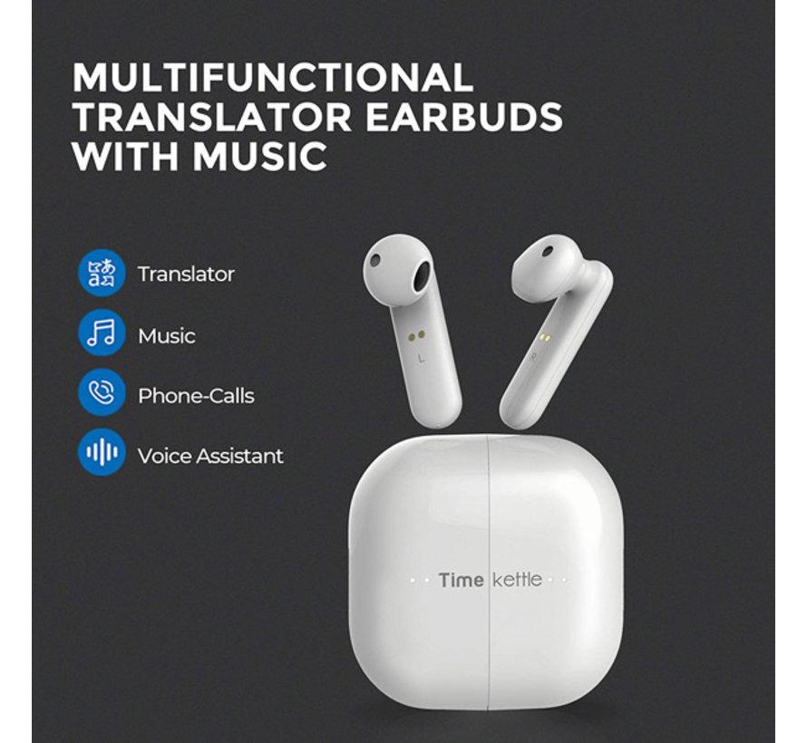Timekettle M2 Translator - Vertaalapparaat - Muziek luisteren -  Alles-in-één