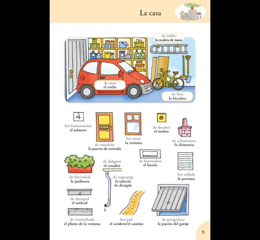 Ik leer Spaanse woorden - Basiswoordenschat voor beginners