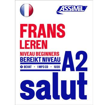 Assimil - Taalcursussen & Leerboeken SALUT - Leer Frans voor Beginners (A2)