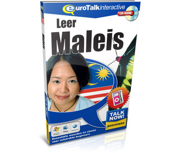 Eurotalk Talk Now Leer Maleis! - Cursus Maleis voor Beginners (CD + Download)