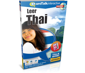 Eurotalk Talk Now Leer Thai- Cursus Thais voor Beginners (CD + Download)