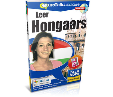 Eurotalk Talk Now Leer Hongaars - Cursus Hongaars voor Beginners (CD + Download)
