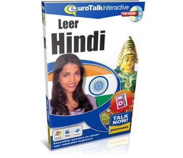 Eurotalk Talk Now Leer Hindi - Cursus Hindi voor Beginners (CD + Download)