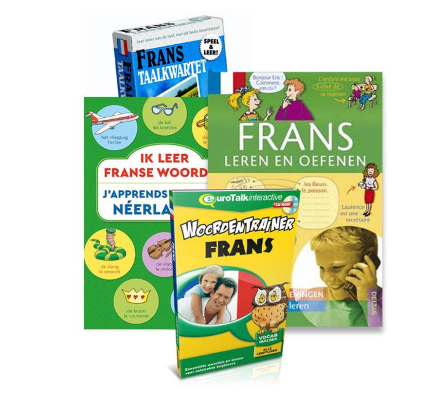 Frans voor kinderen - Frans  leren, Spelen en Oefenen - PAKKET