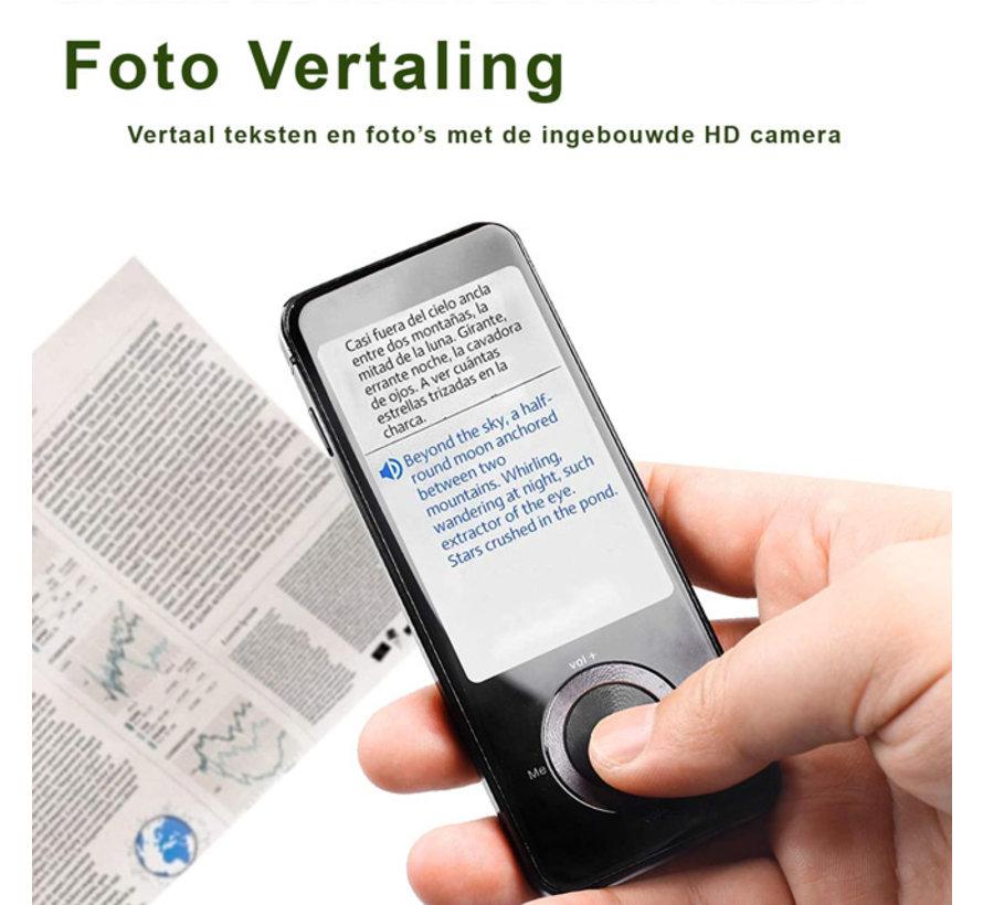 Draagbaar vertaaltoestel voor Spraak, Tekst en Foto's