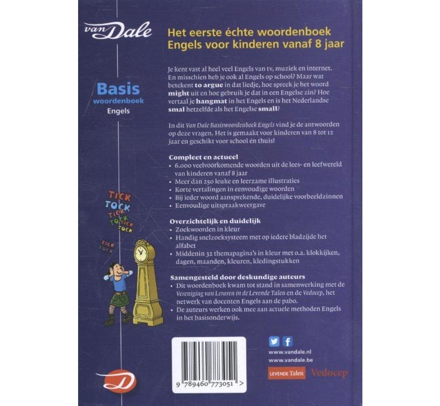 Van Dale Basis woordenboek Engels voor kinderen