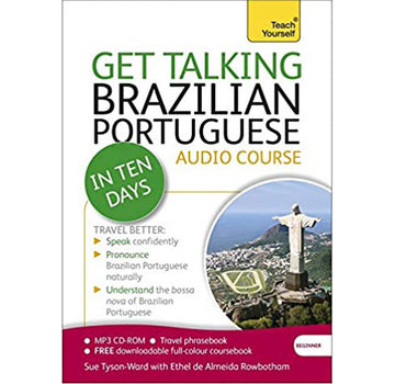 Language Talen leren Get talking Brazilian Portuguese  - Audio taalcursus (CD)