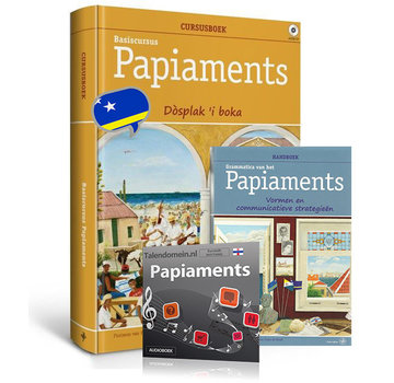 Walburg Pers Papiaments leren - Cursus Boek + Grammatica + Audio Luistercursus {PAKKET)