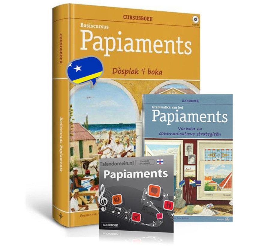 Cursus Papiaments - Boek + Grammatica + Audio Luistercursus {PAKKET)