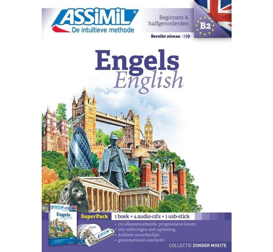 Assimil Engels zonder moeite  + Werkboek (PAKKET)
