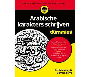 Talen leren voor Dummies - Leerboeken Arabische Karakters schrijven voor Dummies