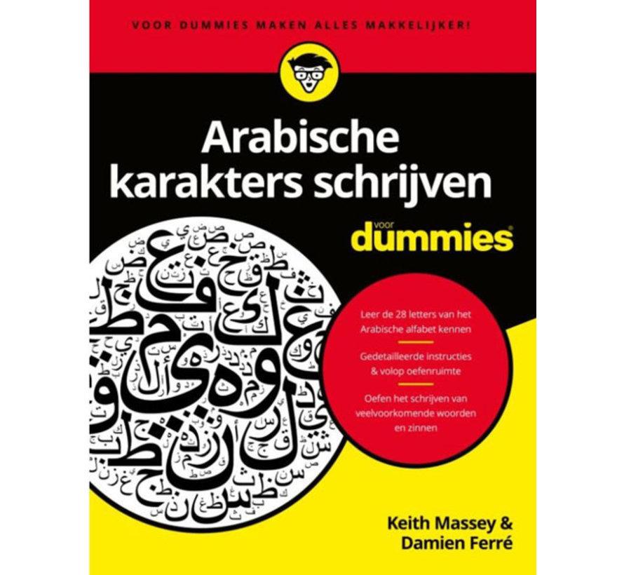 Arabische karakters schrijven voor Dummies