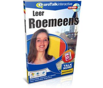 Eurotalk Talk Now Cursus Roemeens voor Beginners - Leer de Roemeense taal (CD + Download)