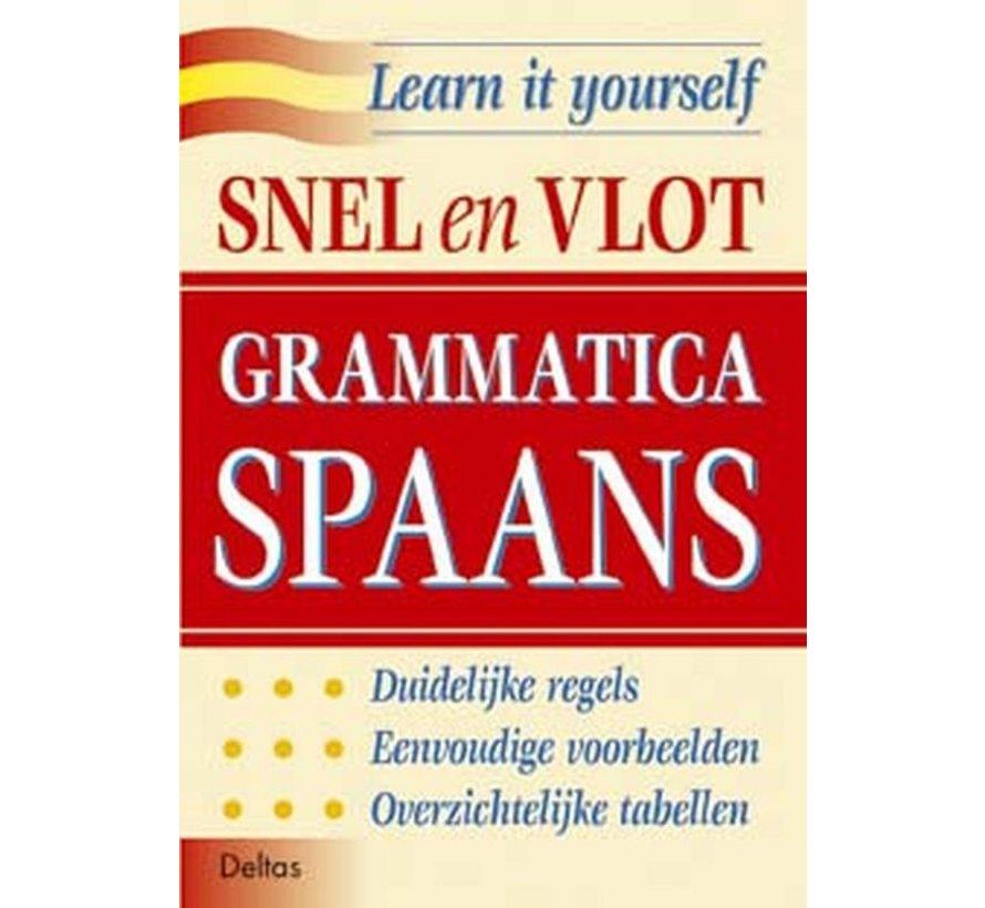 Snel en Vlot Spaans leren  - 3 Boeken - Lesboek + Grammatica + Oefenboek