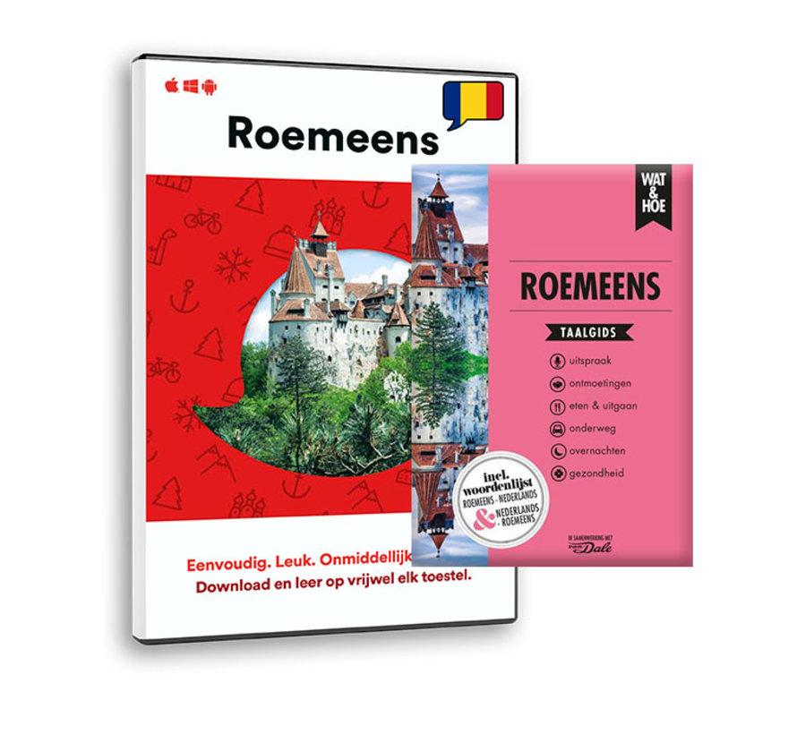 De complete cursus Roemeens: Online taalcursus + Leerboek Roemeens