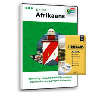 Complete taalcursus Compleet Afrikaans leren - BOEK + ONLINE cursus Afrikaans
