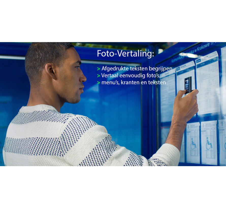 Vasco M3 Vertaalcomputer -  Draagbare Pocket Vertaler