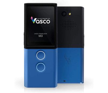 Vasco Translators Vasco M3 Translator (Blue) - Vertaal Apparaat -  Stem, Tekst, Foto en Gesprek Vertaler - Draagbare Vertaalcomputer + GRATIS Internet