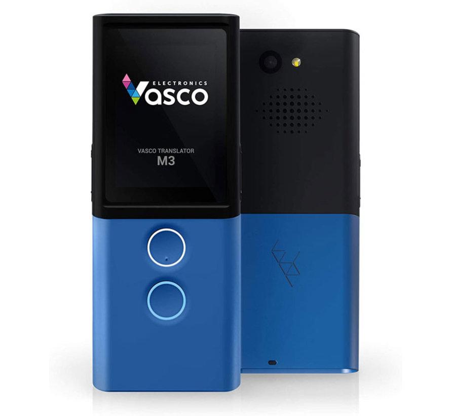Vasco M3 Vertaalcomputer -  Draagbare Pocket Vertaler  (Blauw)