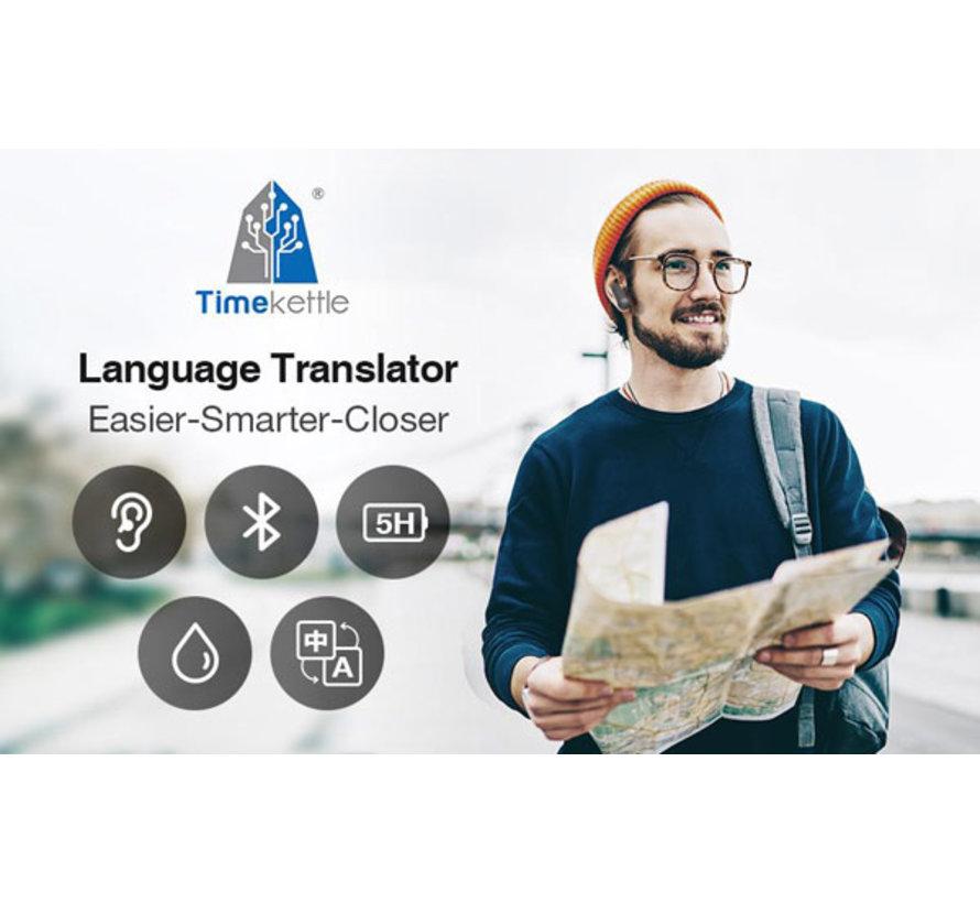 Timekettle WT2 Plus - Vertaal Oordopjes  / Translation Earbuds (Zwart)