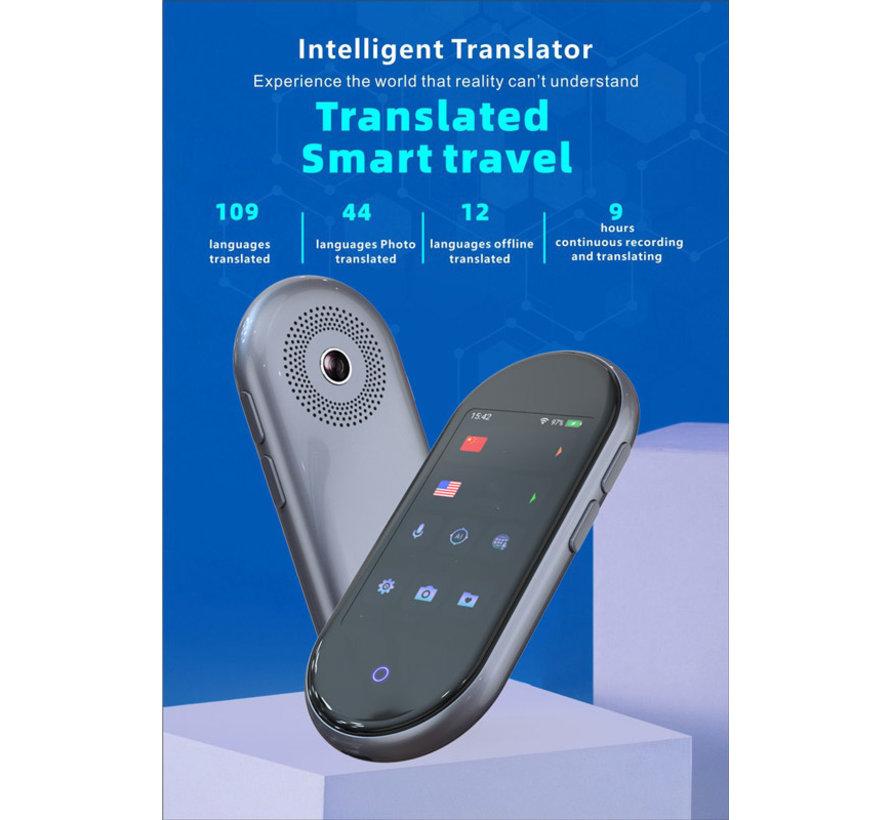 AI -Slimme Vertaler 109+ Talen - Draagbaar Realtime Stem, Tekst, Foto en Gesprek Vertaalapparaat