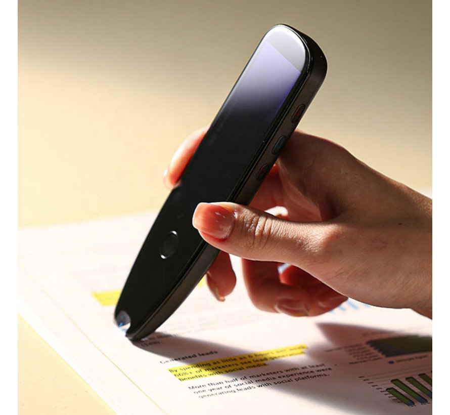 Vertaalpen - Scanning en Translation Pen  - Portable Vertaler voor Tekst en Spraak