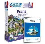 Complete taalcursus Frans leren Online + Boek + Audio CD's - Complete cursus Frans - Niveau A1 tot B2 - Conversatie,  Frans leren spreken en Grammatica
