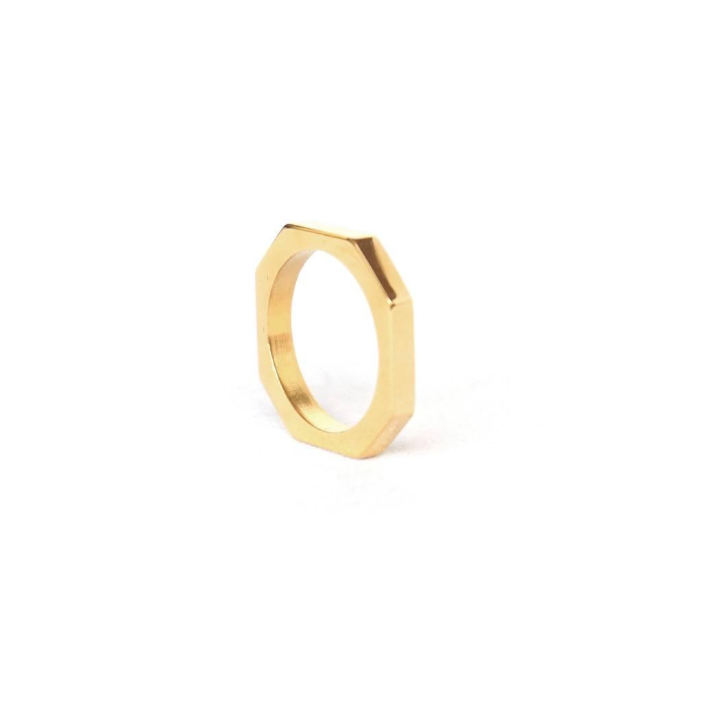 Ring gold No.6 | 2.0