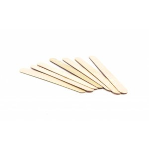 Panw Large wooden wax spatulas (100 pieces)