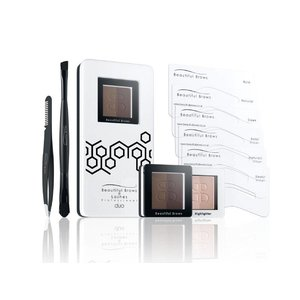 Fab Brows Schöne Augenbrauen Kit Duo Hellbraun / Medium Brown