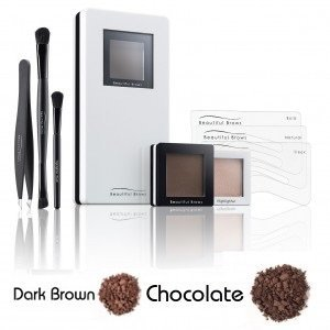 Fab Brows Beautiful eyebrow kit duo dark brown / chocolate