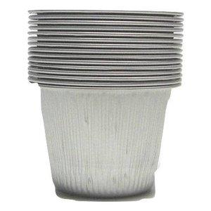 Dimax Aluminium potjes Harsverwarmer 10 stuks   100ml
