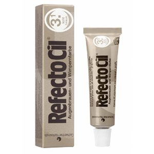 Refectocil Eyelashes and eyebrows light brown 15 gr color (3.1) set 2