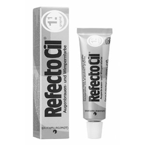 Refectocil Eyelashes and eyebrows color gray 15 gr (1.1) - set of 2 pieces