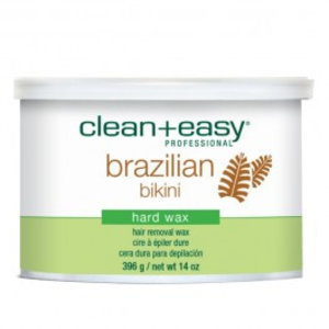 Clean & Easy Brazilian Bikini Hard Wax  in blik 396gr