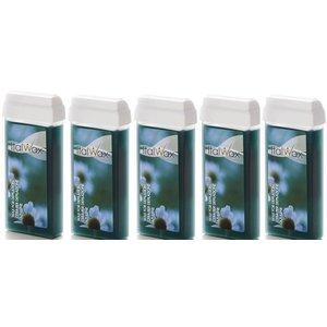 ItalWax Azulene wax cartridges 5x 100 ml