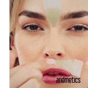 Andmetics Lippenwachsstreifen Frauen