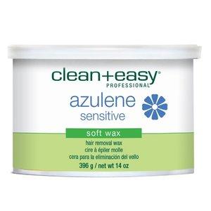 Clean & Easy Azulene Sensitive Soft wax, 396 g