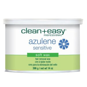 Clean & Easy Azulene Sensitive Soft Wax, 396g