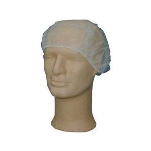 Merbach Haarnetz flaches Modell weiß 100 Stück