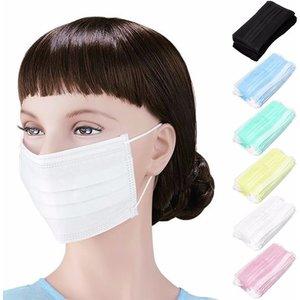 Panw Mundmaske 3 Schichten 50 Stück weiß