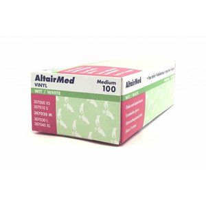 AltairMed Gloves vinyl powder-free 100 pcs