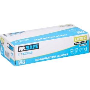 M-Safe Latexhandschuhe gepudert 100 Stück