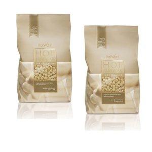 ItalWax Filmwachs Weiße Schokolade 2kg Kombination Deal