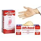 Soft-Hand Latexhandschuhe puderfrei