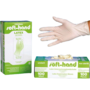 Soft-Hand Latex gloves lightly powdered - 100 pieces