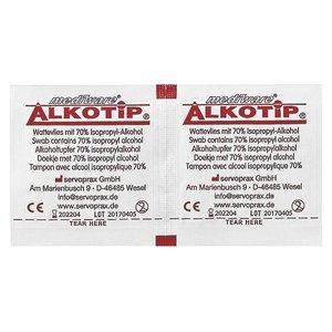 Alkotip Alkoholtupfer mit 70% Isopropylalkohol - 260 Stk